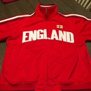 "Puma style Futbol zip-up ""England"""